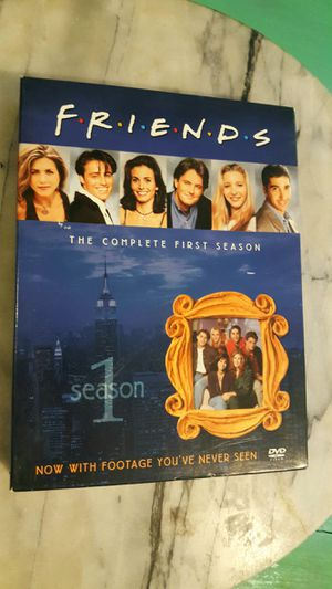 4 Disc DVD SET OF SEASON 1 BEST TV SHOW EVER FRIENDS 100% WORKS COMEDY FUN FAMILY for Sale in Scottsdale, AZ