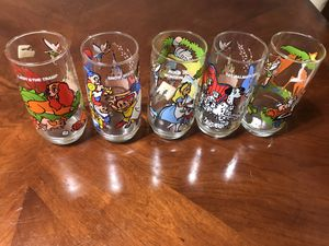 Vintage Wonderful World of Disney Pepsi Collector Series $5 each cup or 5 cups for $20 for Sale in Santa Clara, CA