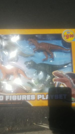 Dino figures playset NEW for Sale in Santa Ana, CA