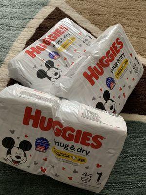 Huggies Diapers Size 1 for Sale in Murfreesboro, TN