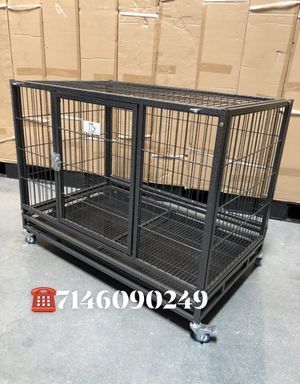 """Dog cage kennel size 37"""" medium new in box 📦 for Sale in Chino, CA"""