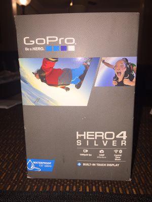 GoPro Hero 4 Silver for Sale in Houston, TX