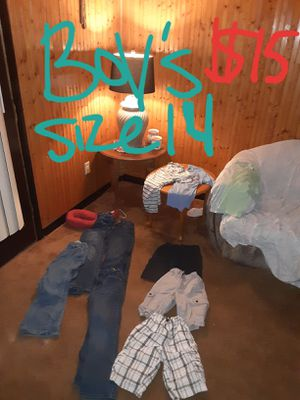 Boys size 14 clothing lot good condition for Sale in Saint Thomas, PA