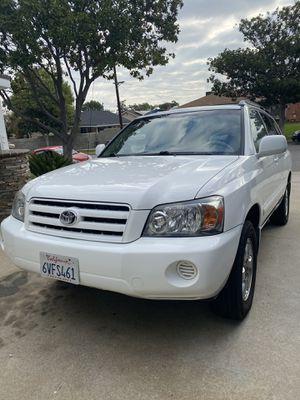 2005 Toyota Highlander V6 for Sale in Garden Grove, CA
