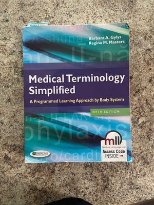 Medical terminology simplified for Sale in Whiteford, MD