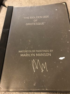 Marilyn Manson Art Gallery Opening SIGNED for Sale in Los Angeles, CA