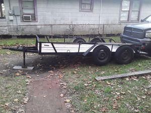 7×14 trailer/New deckingNewly painted for Sale in Taylor Landing, TX