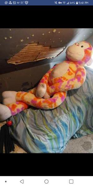 Giant stuffed animal monkey for Sale in Cedarville, NJ