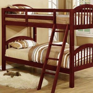 Honey Cherry Twin/Twin Bunk Bed | 4472C for Sale in Columbia, MD
