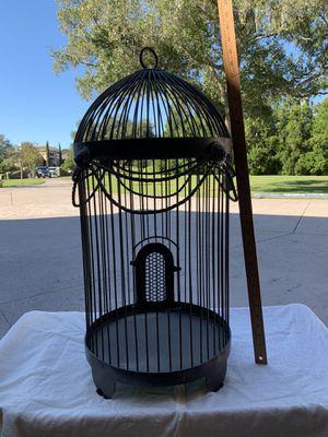 Iron Bird cage for Sale in Odessa, FL
