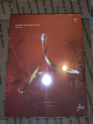 Adobe acrobat Xl Pro for Sale in Los Angeles, CA
