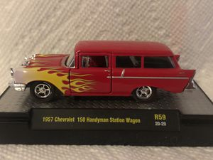 1957 Chevrolet wagon 1:64 scale for Sale in Poland, IN
