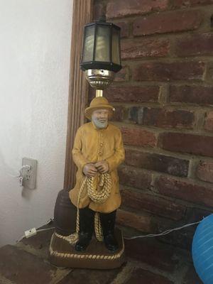 Vintage fisherman lamp for Sale in Pasadena, MD