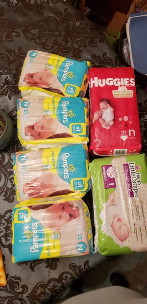 Unopened Huggies and Pampers diapers for Sale in Portland, OR