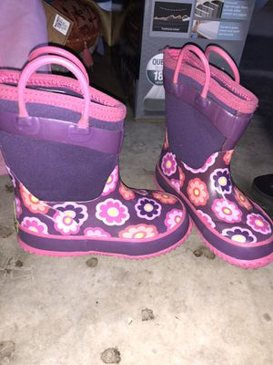 Rain boots girls 10 for Sale in Fort Worth, TX