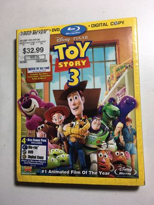 Toy Story 3 Blu-ray (4 Disk Set) 2010 for Sale in Vashon, WA