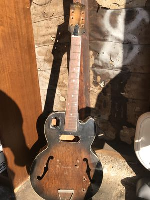 Project Archtop Guitar for Sale in Orange, CA