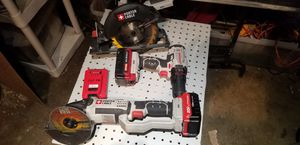 Brandvnew porter cable 20 volt lithium ion power tools. Used only once. for Sale in Las Vegas, NV