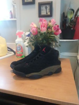 Jordan 13 olive/black for Sale in South Williamsport, PA