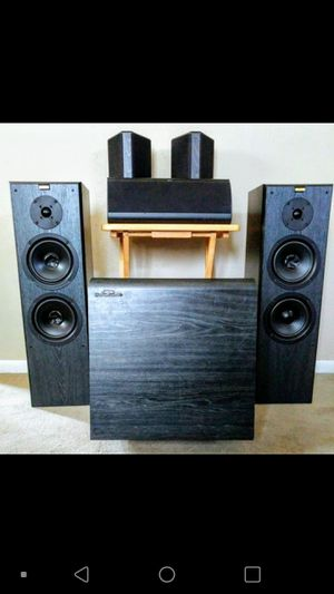 Jamo home stereo speakers for Sale in Cuyahoga Falls, OH