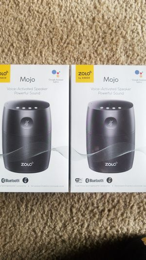 Voice activated bluetooth speakers brand new still in the box with plastic for Sale in Pittsburgh, PA