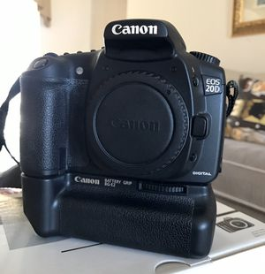 Canon EOS 20D Digital SLR for Sale in Davenport, FL