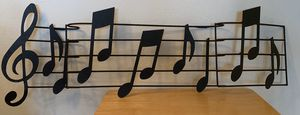 Music notes sign decor 3-D picture for Sale in Coral Springs, FL