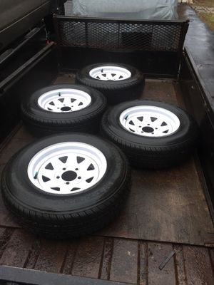 ST205/75D14 trailer tires for Sale in Hamden, CT