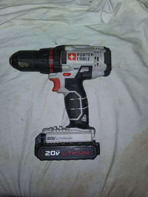 Porter Cable 20v drill for Sale in Nitro, WV