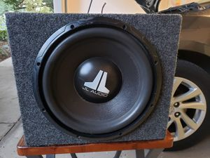 """Subwoofer JL audio 12"""" in good condition for Sale in Orlando, FL"""