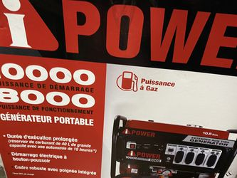Brand New Ipower 10,000 watts Extended Capacity Generator Only Asking $850 for Sale in La Habra,  CA