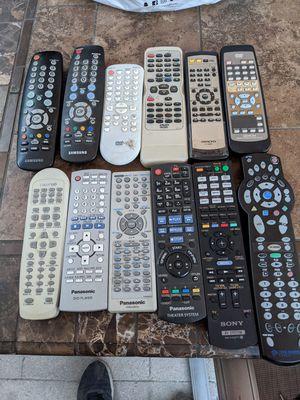 Remote controls for sale for Sale in El Monte, CA