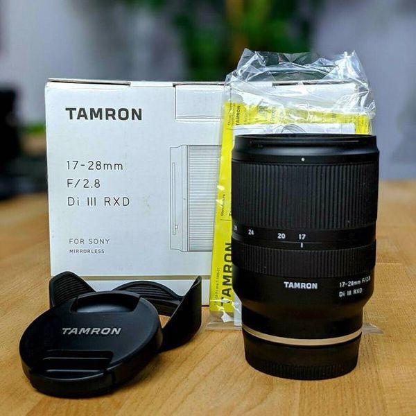 Tamron 17-28 f/2.8 Di III RXD for Sony E Mount