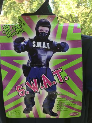 New- SWAT Halloween Costume Size 4-6 Years for Sale in Penndel, PA