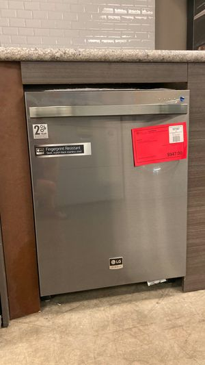 LG studio top control dishwasher. One year manufacturers warranty for Sale in Chandler, AZ