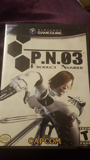PN03 Product Number 03 capcom for Sale in Phoenix, AZ