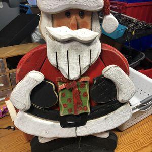 Wooden Santa for Sale in Milton, FL