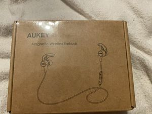 AUKEY Wireless Headphones, 3 EQ Sound Modes, aptX and Sweat-Resistant Nano Coating, Secure Fit Bluetooth Sports Earbuds, 8-Hour Battery Life for Sale in Florissant, MO