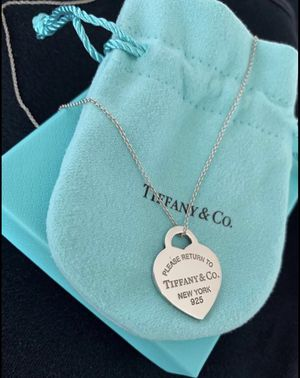 Return to Tiffany heart tag pendant for Sale in North Bethesda, MD