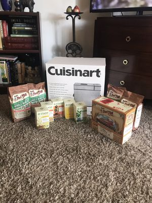 Cuisinart Bread maker and mixes for Sale in Tualatin, OR