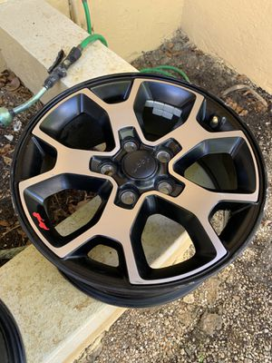 5 2019 Jeep Wrangler wheels for sale for Sale in Miami, FL