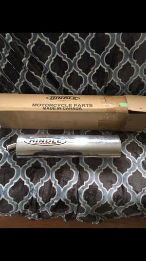 Hindle Aluminum Motorcycle Exhaust for Sale in Chicago, IL