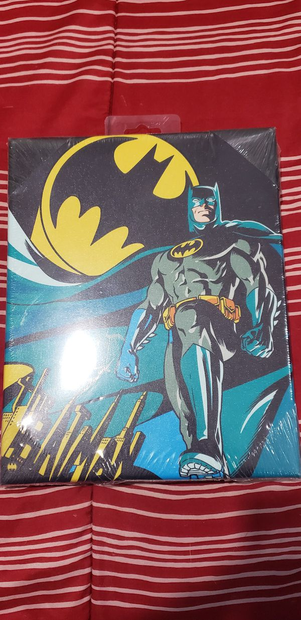 Batman Canvas Frame