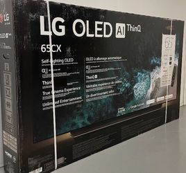"LG 65"" Smart 4K UHD HDR OLED TV (OLED65CX) for Sale in Corona,  CA"