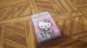 Subtraction Hello Kitty flash cards for Sale in Westlake, OH