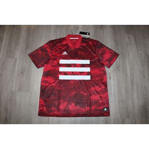 ADIDAS TAN GRAPHIC AOP DIGITAL CAMO RED SOCCER JERSEY SIZE MEDIUM BRAND NEW for Sale in Los Angeles, CA