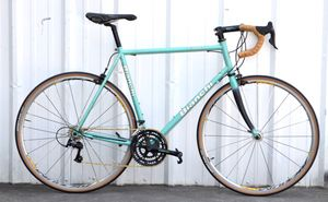 Bianchi Eros 61cm Road Bike | Full Campagnolo for Sale in Saint Petersburg, FL