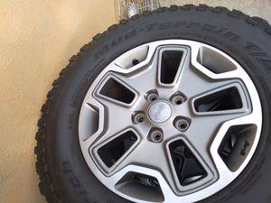5 jeep Rubicon wheels $900 for Sale in E RNCHO DMNGZ, CA