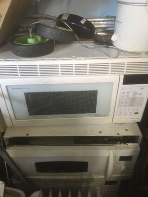 Over range microwave for Sale in Oklahoma City, OK