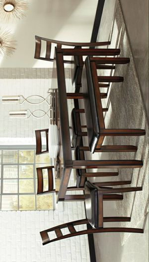 İn stock🍀SAME DAY DELİVERY🍀SPECIAL] Coviar Brown 6-Piece Dining Set   D385 for Sale in Jessup, MD